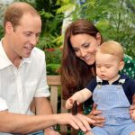 Prince William Catherine Duchess of Cambridge and Prince George 640x470