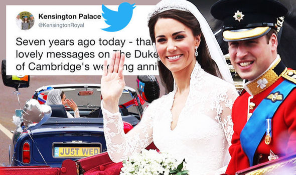Happy Anniversary Kate And William Kensington Palace Leads