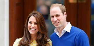 Prince William and Kate leave hospital with Princess Charlotte (Image Getty Images Europe)