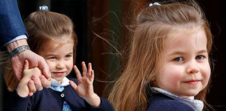 Princess Charlotte stole the heart of the nation Photo C GETTY
