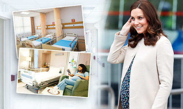 Royal baby Kate Middleton will give birth on a private maternity ward Photo (C) GETTY, HEALTHCARE