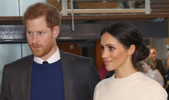 Royal wedding Meghan Markle and Prince Harry's wedding is less than two months away Photo (C) GETTY