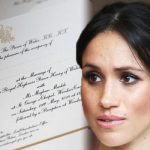 Royal wedding Meghan Markles divorce was acknowledged on the official invitations Photo C KENSINGTON PALACE TWITTER GETTY