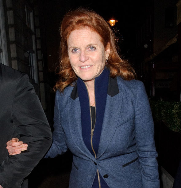 Sarah Ferguson Former-wife of Prince Andrew, a son of Queen Elizabeth II Photo (C) GETTY