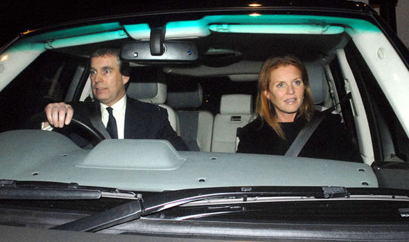 Sarah Ferguson It is believed her and Prince Andrew still live together Photo (C) GETTY