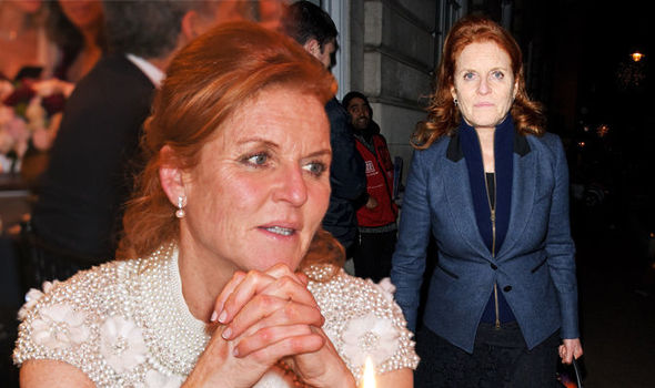 Sarah Ferguson She admitted to reading a self help book on vulnerability Photo (C) GETTY