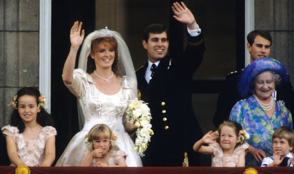 Sarah Ferguson She married Prince Andrew, Duke of York, in 1986 Photo (C) GETTY