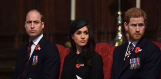 The Duke, Prince Harry and Ms. Markle joined today's annual Service of Commemoration
