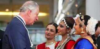 The Prince of Wales allegedly joked about whether a non white women was really from Manchester Photo C GETTY