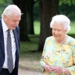 The Queen revealed a cheekier side of George and Charlotte on a David Attenborough film Photo C PA ITV