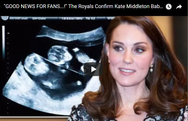 The Royals Confirm Kate Middleton Baby's Gender 'IT'S A BOY'