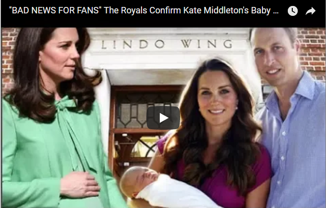 The Royals Confirm Kate Middletons Baby No.3 Will Be A COMMONER