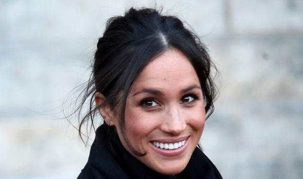 The article was based on photos from Meghan Markle and Prince Harry's recent visit to Catalyst Inc Photo (C) GETTY
