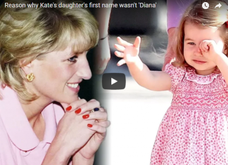 The reason why Kate's daughter's first name wasn't 'Diana'