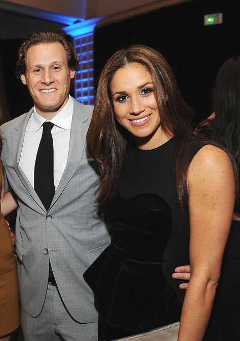 The report suggests that Meghan would not have been successful without Mr Engelson Photo (C) GETTY