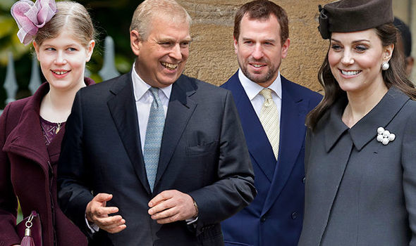 The royal baby could have five godparents Photo C GETTY