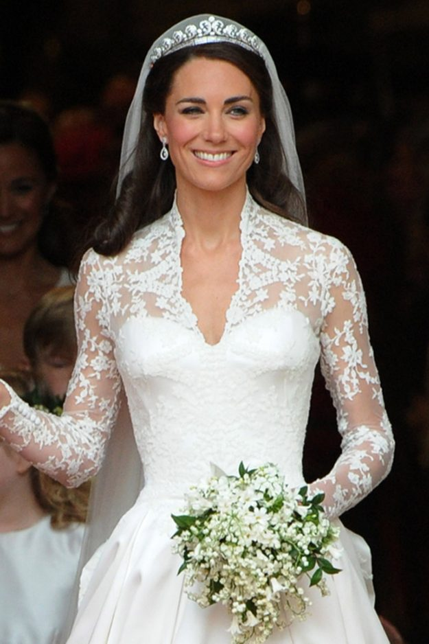 The tiara Kate Middleton wore on her wedding day is on display in Australia [Getty]