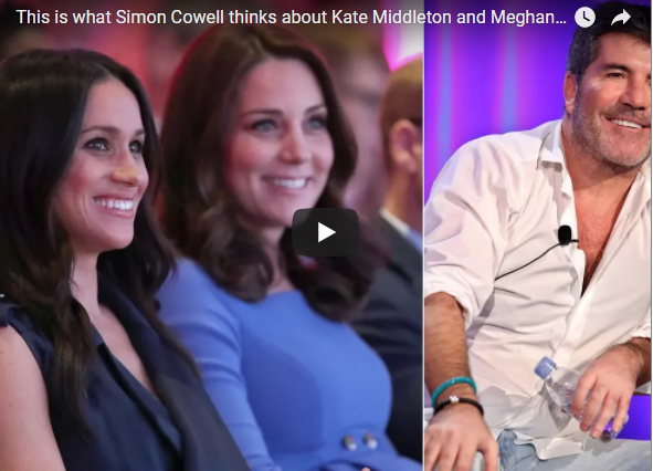 This is what Simon Cowell thinks about Kate Middleton and Meghan Markle
