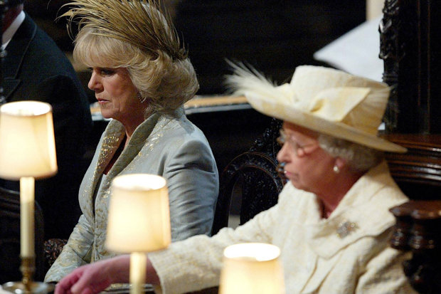 WICKED WOMAN The Queen reportedly vowed to have 'nothing to do' with Camilla Photo (C) GETTY
