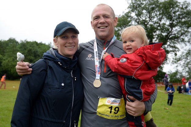 ara and Mike Tindall with their daughter Mia Tindall are expecting again [Getty]