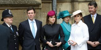 Everyone Is Obsessed With Princess Eugenie's Easter Outfit Photo (C) GETTY