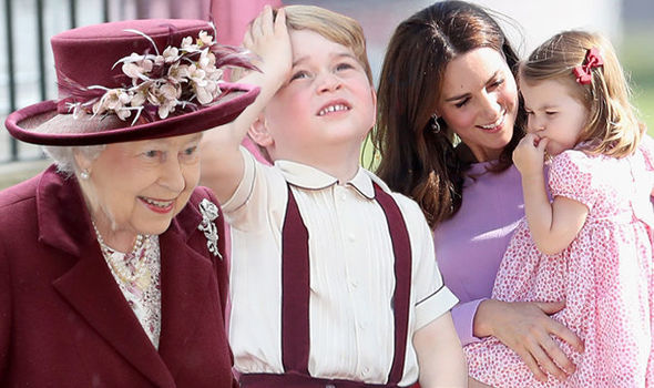 has provided a rare glimpse into the close bond she shares with Prince George and Princess Charlotte Photo (C) GETTY