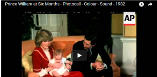 rince William at Six Months Photocall Colour Sound 1982