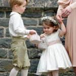 01 Prince George and Princess Charlotte Elizabeth Diana on Pippa Middleton Wedding Photo C GETTY