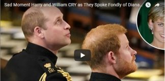 Sad Moment Harry and William CRY as They Spoke Fondly of Diana at the Altar