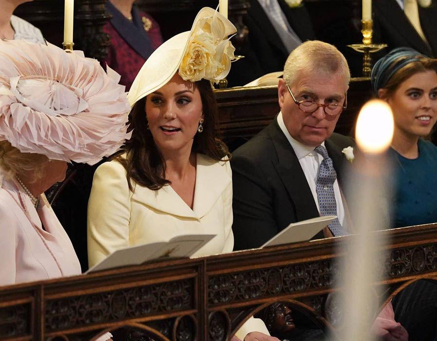 Catherine Duchess of Cambridge and Princess Charlotte at Royal Wedding Photo (C) GETTY