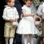 05 Prince George and Princess Charlotte Elizabeth Diana on Pippa Middleton Wedding Photo C GETTY