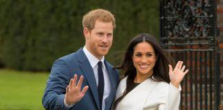 Prince Harry' and 'Meghan Markle' visit Blackburn Market Photo (C) GETTY
