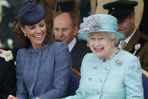 Duchess of Cambridge Kate Middleton and the Queen are thought to have a close bond
