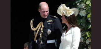 13 Catherine Duchess of Cambridge and Princess Charlotte at Royal Wedding Photo C GETTY