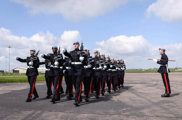 Over 250 members of the Armed Forces will be present at the royal wedding on March 19 Photo (C) GETTY