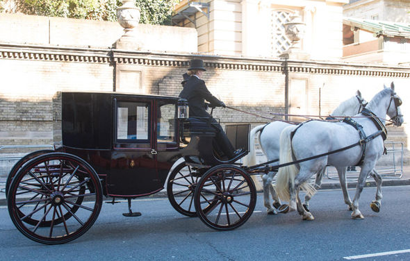 Could this be Meghan Markle and Prince Harry's royal wedding carriage Photo (C) FLYNET, SPLASH NEWS