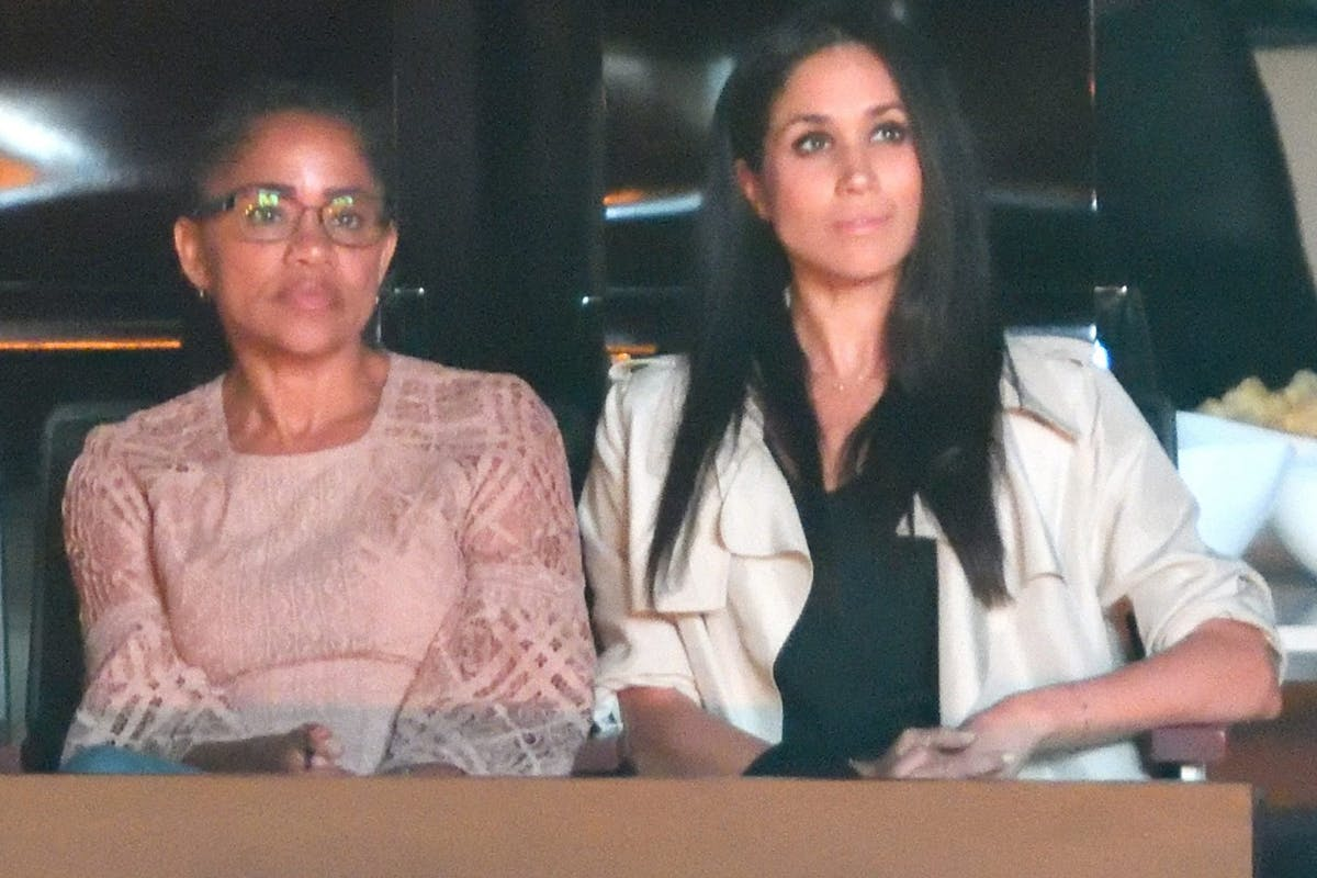 Doria Ragland and Meghan Markle at the Closing Ceremony of the Invictus Games Toronto 2017 Photo (C) GETTY
