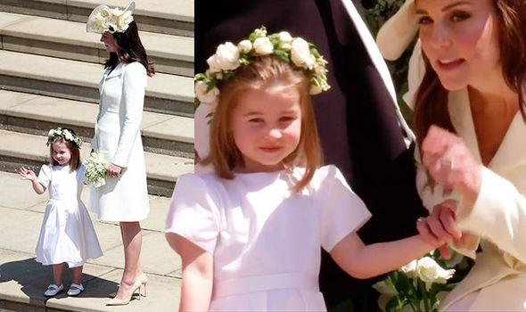 Princess Charlotte Will Be a Bridesmaid at Princess Eugenies Wedding foto