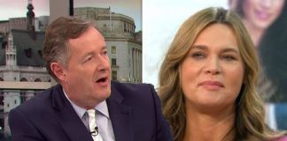 Good Morning Britain Piers Morgan's wife revealed she said she would obey her husband Photo (C) GETTY, WENN