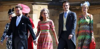 Harrys other ex Cressida Bonas has also arrived Photo C GETTY