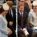 In fact the 33 year old former military man cant help but make Kate giggle Photo C GETTY
