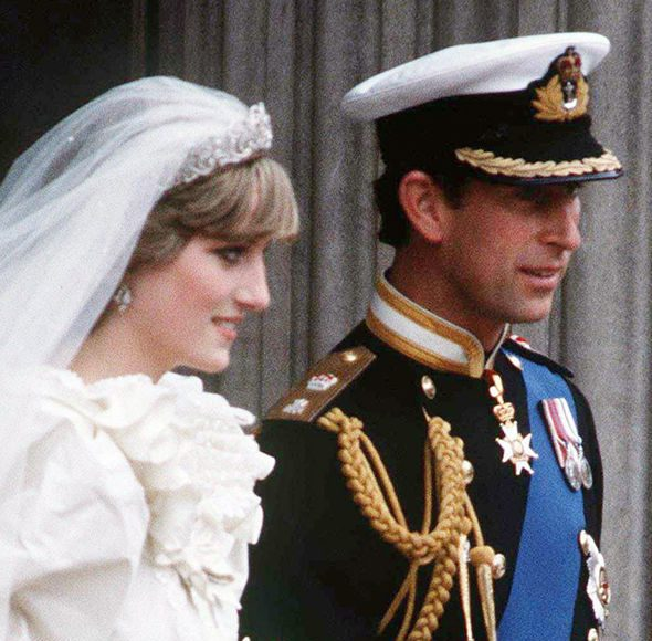 Kate Middleton She and Princess Diana both wore earrings from their parents Photo (C) GETTY