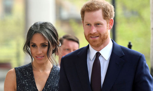 Kensington Palace described the event as a 'deeply personal moment' for Meghan Markle Photo (C) GETTY