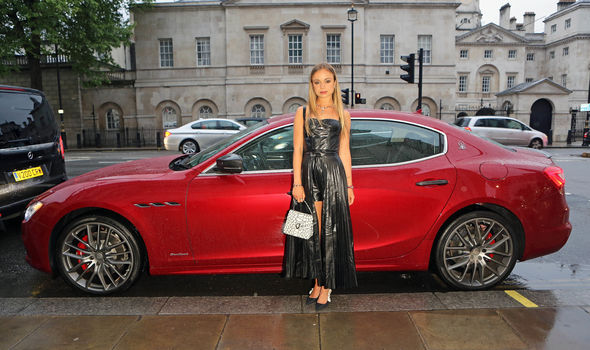 Lady Amelia Windsor has been dubbed the most beautiful royal after appearing in Tatler magazine Photo C GETTY 1