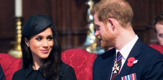 Let them worry joked Parisa Fitz Henley who plays Meghan Markle in Harry Meghan A Royal Romance By Eddie MulhollandWPA PoolGetty Images.