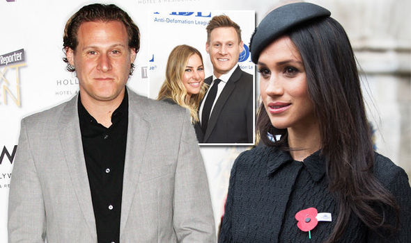 Meghan Markle's ex husband revealed Trevor Engelson wedding photos from first marriage Photo (C) GETTY STAR MAGAZINE MEGHAN
