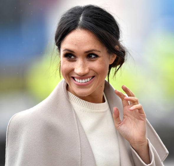Meghan Markle A source has also told the Sun that Meghan's dress from the brand will cost £40,000 Photo (C) GETTY