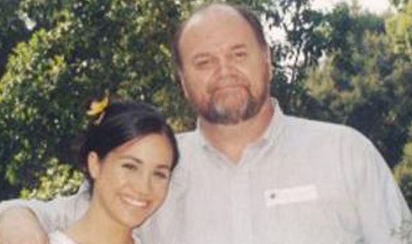 Meghan Markle Her father Thomas Markle dropped out of the royal wedding at last minute Photo (C) TIM STWA
