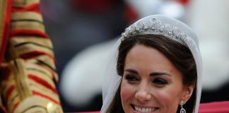 Meghan Markle Kate Middleton may wear the tiara and jewellery from her wedding day expert claims Photo C GETTY