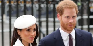 Meghan Markle and Prince Harry looked more in love than ever at the event Getty
